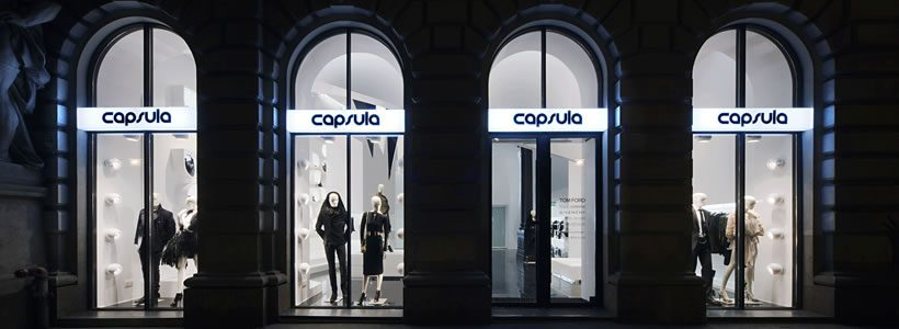 CAPSULA Multi brand Store Budapest.