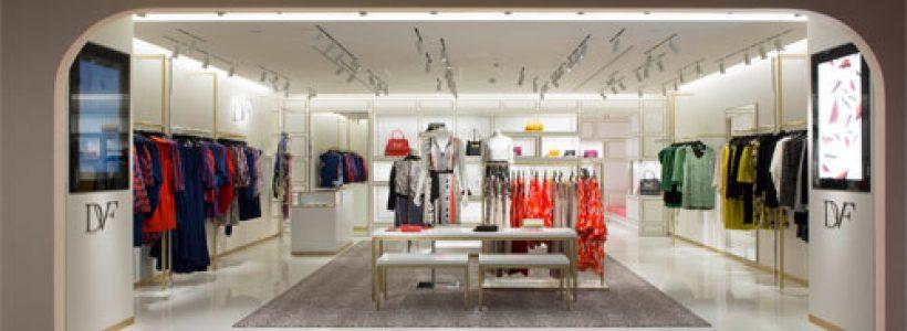 DIANE von FURSTENBERG ha aperto il suo primo shop-in-shop a La Rinascente di Milano.