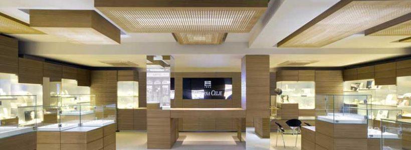 ZLATARNA CELJE concept store, Maribor.
