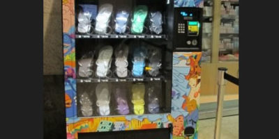 HAVAJANAS lancia le vending machine.