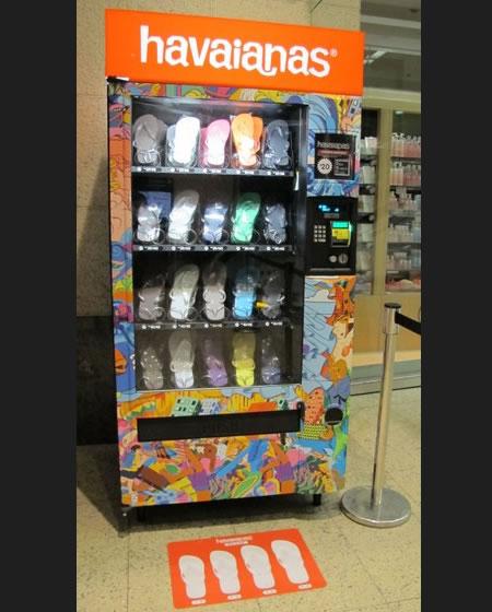 Havajanas vending machine