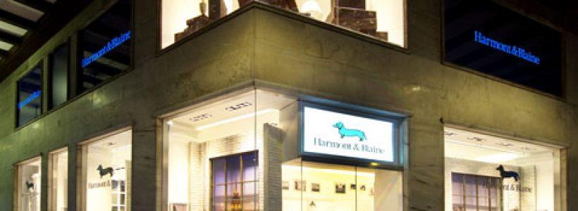 HARMONT & BLAINE: inaugurato il flagship store di Milano.