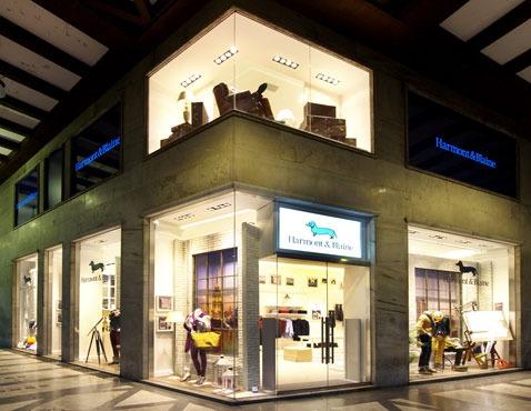 Flagship store HARMONT &  BLAINE Milano
