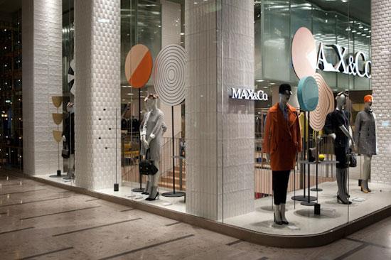 flagship store MAX&Co di Milano