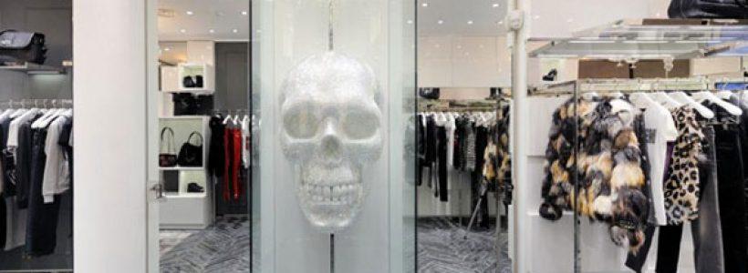 PHILIPPE PLEIN nuovo flagship store a Milano.