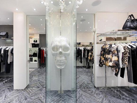PHILIPPE PLEIN nuovo flagship store a Milano