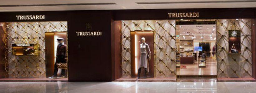 TRUSSARDI: monomarca a Shanghai.