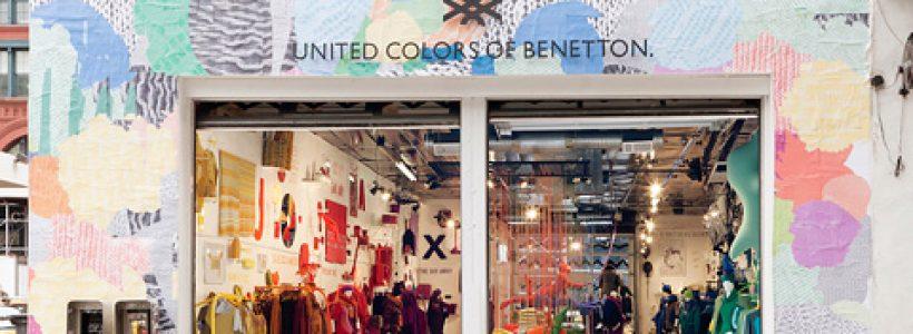 Pop-up store BENETTON a New York.
