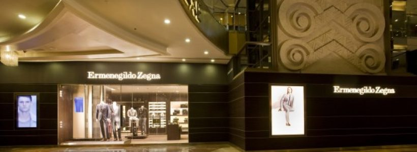 ERMENEGILDO ZEGNA: secondo store a Mumbai