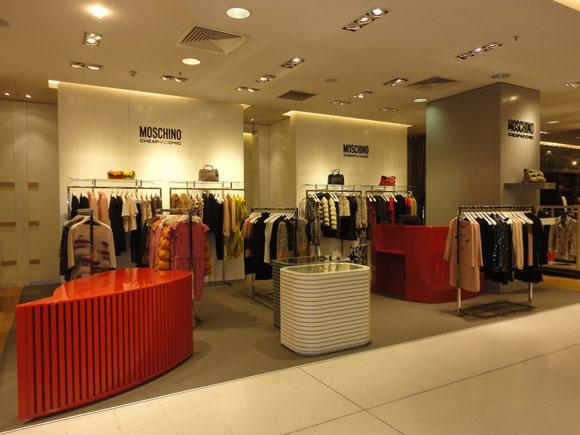 shop in shop MOSCHINO CheapAndChic galeries lafayette parigi