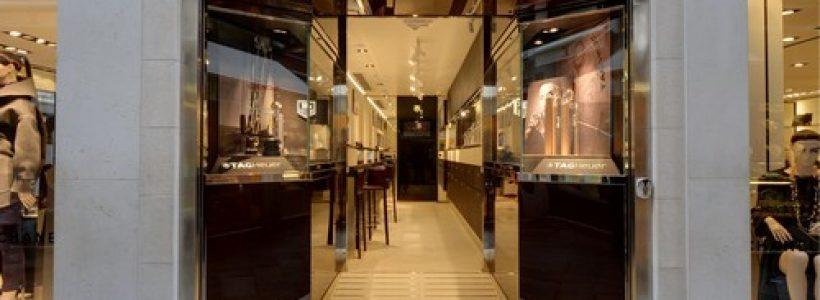 TAG Heuer sceglie Venezia per la sua prima boutique monomarca italiana.