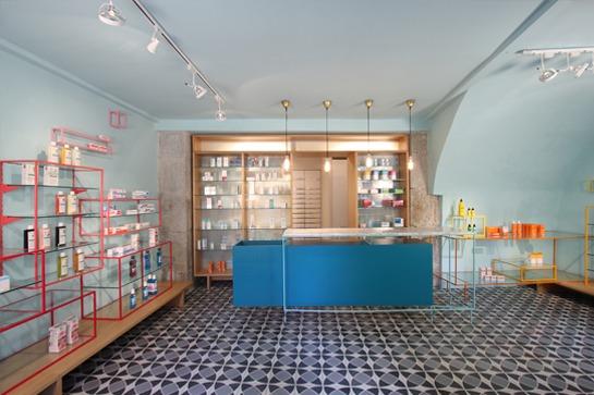 De los Austrias Chemist, a new project by Stone Designs
