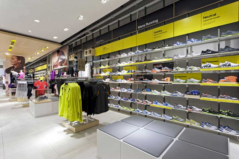 FOOT LOCKER concept store Europa