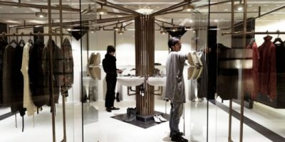 The Tom Rebl Flagship Store Features an Unconventional Design
