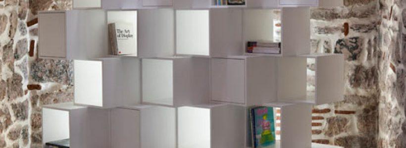 LIMIT, la libreria divisorio modulare che si adatta a ogni esigenza.