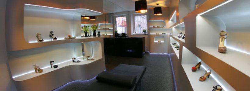 LA LUJO shoe shop Malmö