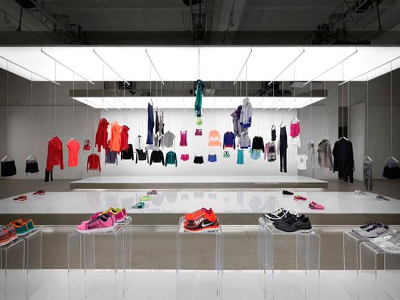 NIKE pop-up showroom by Maggie Peng & Albert Tien  Beijing