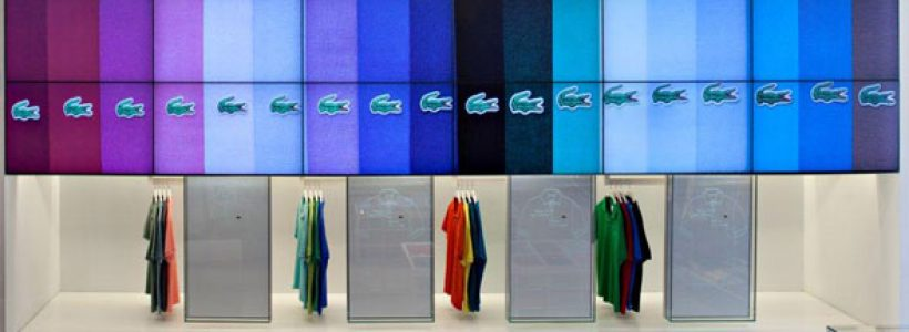 Lacoste Flagship Store Video Walls