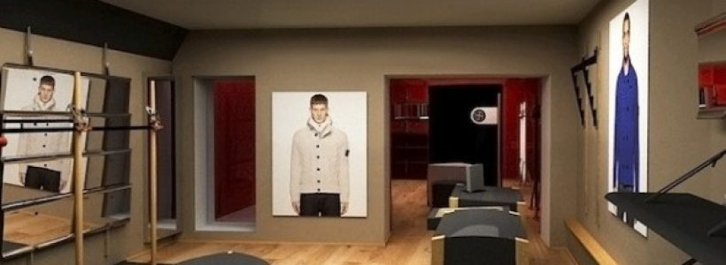 STONE ISLAND: nuovo flagship store a Firenze.