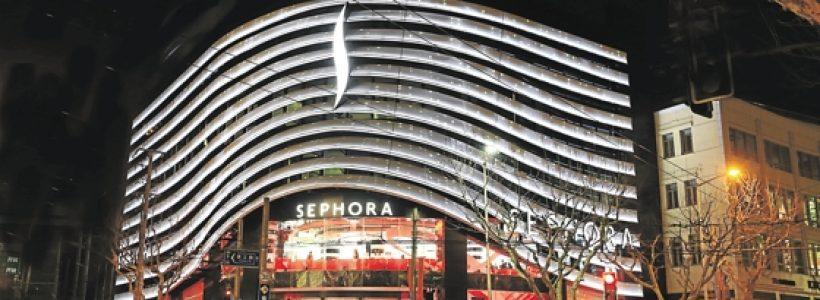 SEPHORA, a Shanghai il suo più grande flagship store cinese.