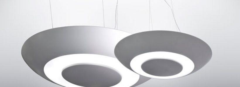 Armille, scenografica ed eterea lampada a sospensione da interni