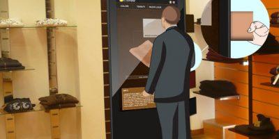 Omnia Virtual Mirror, uno specchio interattivo per arredare, intrattenere ed informare.
