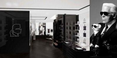 KARL LAGERFELD ha inaugurato il suo primo flagship store a Parigi.