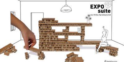 """Si chiama EXPO suite il nuovo """"pacchetto"""" di arredi A4Adesign."""