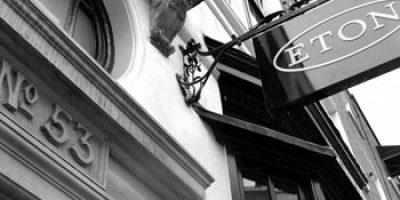 ETON: flagship store a Londra.