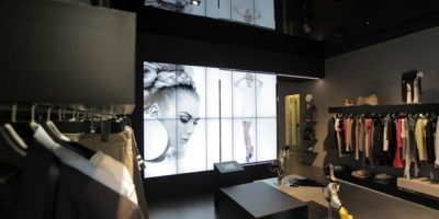 MANGANO il concept del flagship store di Milano.