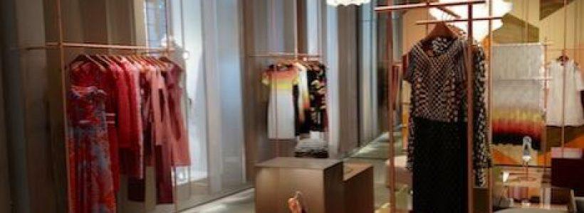 MISSONI: Patricia Urquiola firma la nuova boutique di Milano.