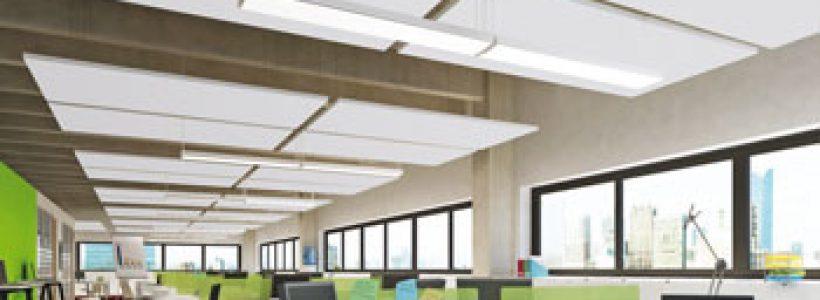 OPTIMA L CANOPY – La soluzione di ARMSTRONG BUILDING PRODUCTS  per vivere gli open space in armonia