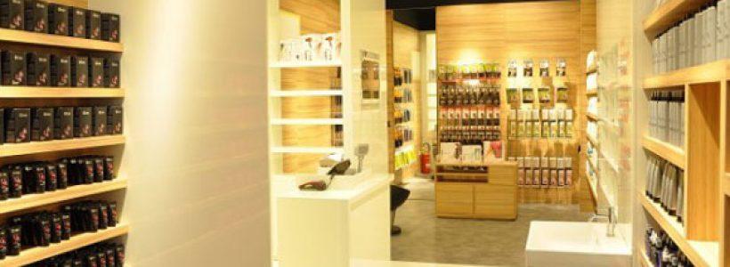Gcube, punti vendita specializzati nell'hair care.