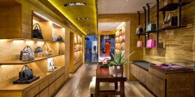 LOEWE opening in Rome the first boutique in Italy.