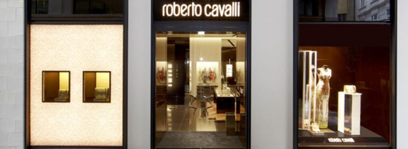 ROBERTO CAVALLI: primo flagship store a Vienna.