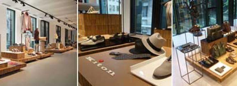 Per il nuovo showroom di Milano, KITON sceglie A4A.