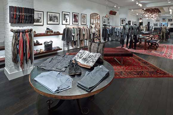 boutique John Varvatos di Boston