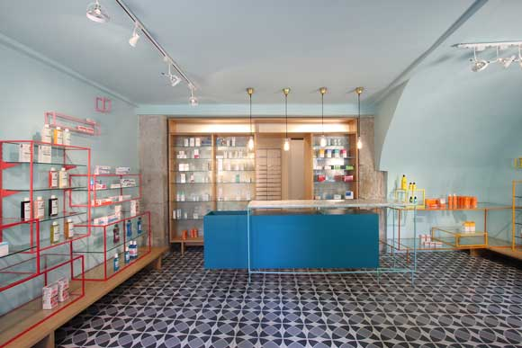 Stone Designs Farmacia de los Austrias Madrid