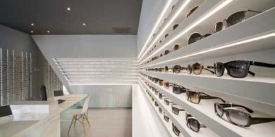 Ottica AMPERE Grenoble by Cyrille Druart.