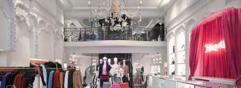 Juicy Couture  flagship store by MRA Architecture & Interior Design.