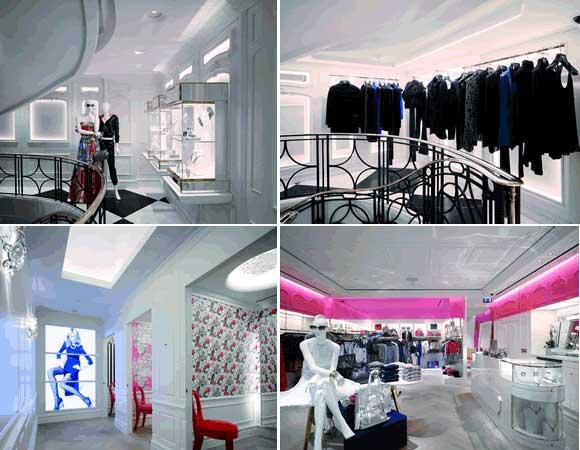 Juicy Couture Londra MRA Architecture Interior design