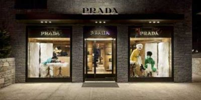 PRADA: boutique a Courchevel, in Francia.