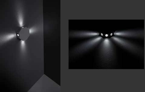 Soluzioni illuminanti Lam32 presenta Octagon