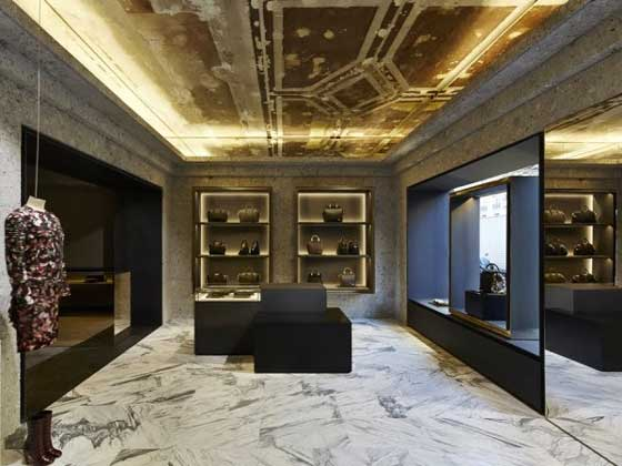 French fashion house Givenchy has unveiled a new flagship store on Avenue Montaigne in Paris