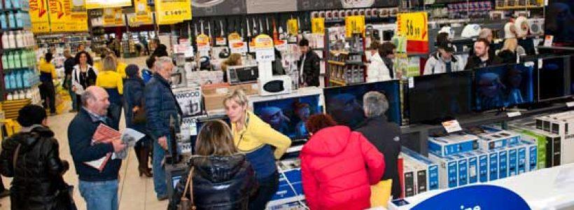 Mercatone Uno: grande successo per il rinnovo totale dello store di Pieve Fissiraga