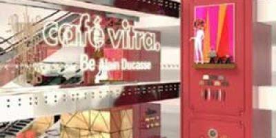 VITRA, un temporary café da Printemps