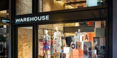 High street fashion retailer WAREHOUSE opened in London.
