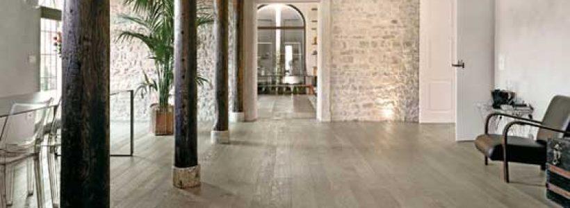 Collezione LISTONI ELITE – Parquet Rovere Select Europeo nella tonalità Grigio Sabbia