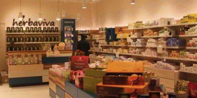 HERBAVIVA concept store.