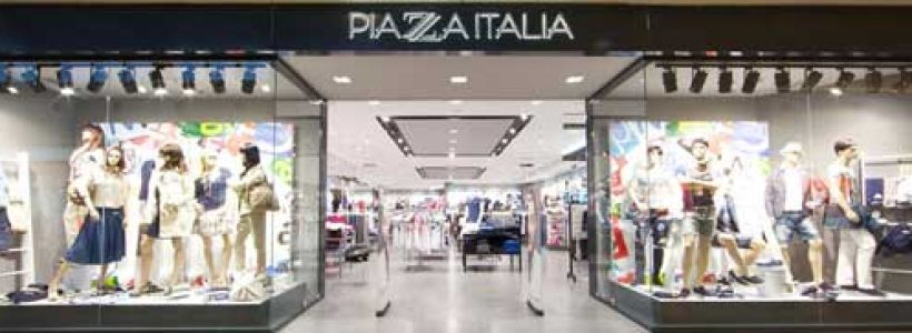 PIAZZA ITALIA: 19 nuovi punti vendita entro il primo semestre 2014